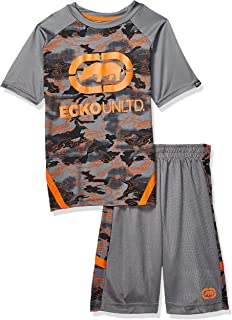 Marc Ecko Boys Sleeve Graphic T-Shirt and Active Short Set