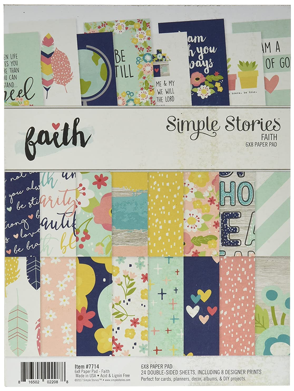 Simple Stories Faith 6x8 Paper Pad