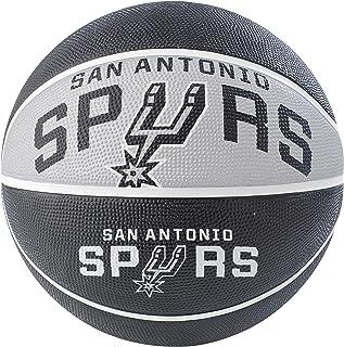 NBA San Antonio Spurs NBA Courtside Team Outdoor Rubber Basketballteam Logo, Black, 29.5