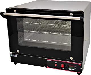 ADORMA CO 40LH 1600W DIGITAL temperature control Convection Oven, Food grade stainless steel body, heavy duty commercial w...