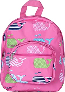 pink whale backpack
