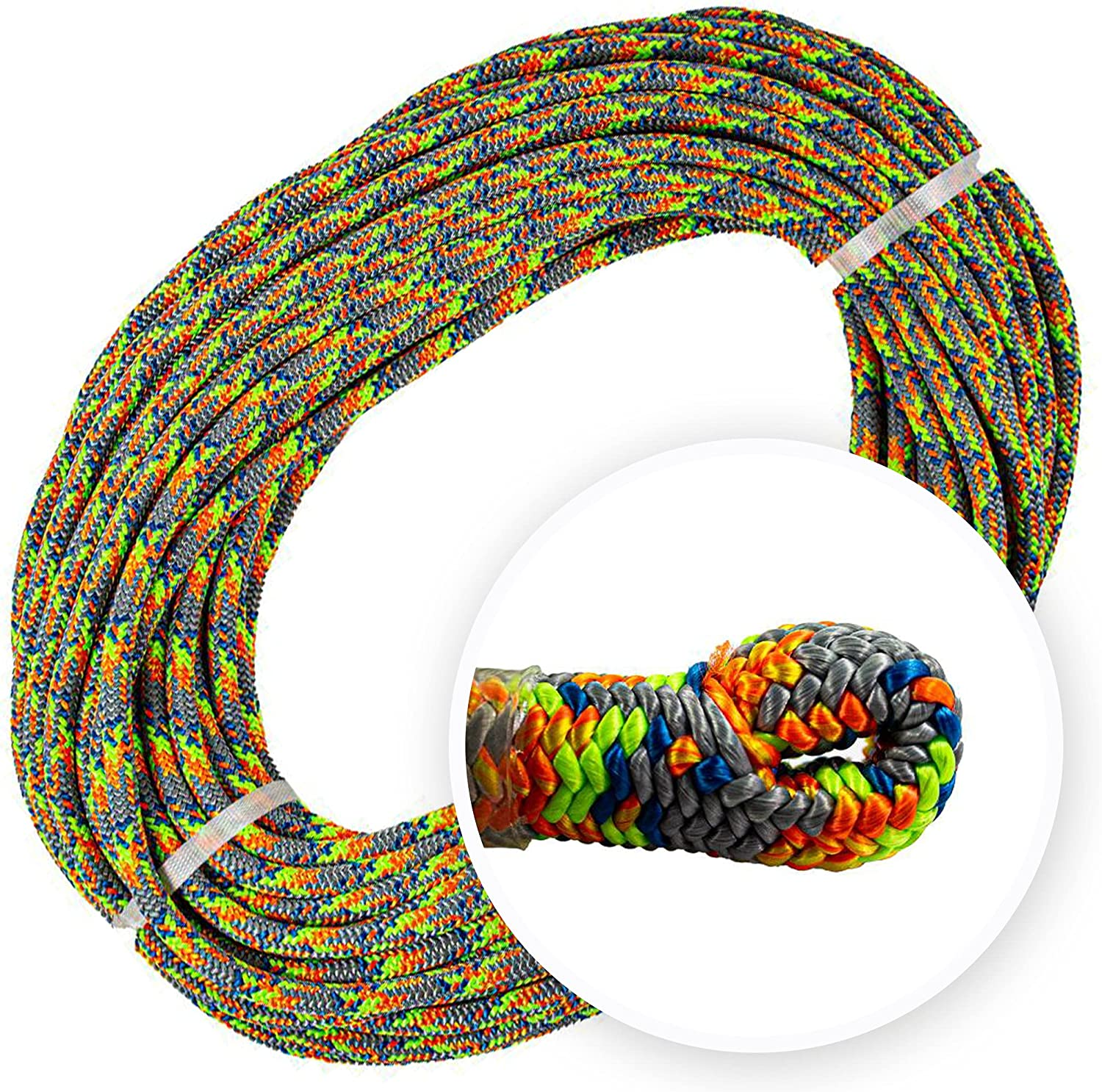 Teufelberger Industry No. 1 Tachyon Climbing Rope - fo 24-Strand Polyester A surprise price is realized