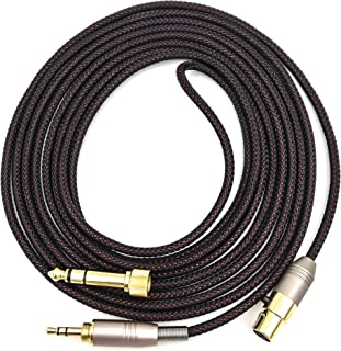 KetDirect Replacement Cable For AKG Q701 / K240 / K240S / K240MK II / K702 / K271s / K141 / K171 / K181 / K271 MKII / pioneer HDJ-200 headphones Audio upgrade HIFI 9.9ft