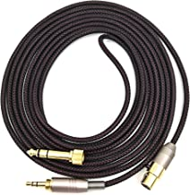 KetDirect Replacement Cable For AKG Q701 / K240 / K240S / K240MK II / K702 / K271s / K141 / K171 / K181 / K271 MKII / pioneer HDJ-200 headphones Audio upgrade HIFI 8.3ft