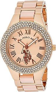 U.S. Polo Assn. Women's Quartz Watch with Alloy Strap, Silver, 19.8 (Model: USC40219)