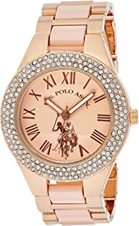 U.S. Polo Assn. Women's Quartz Metal and Alloy Watch, Color:Silver-Toned USC40219