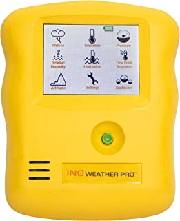 weather station with lightning detector