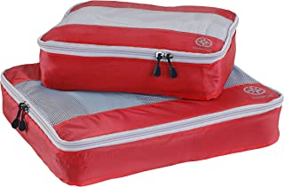 Uncharted Ultra-Lite Packing Cube 2 Piece Set, Cherry, One Size