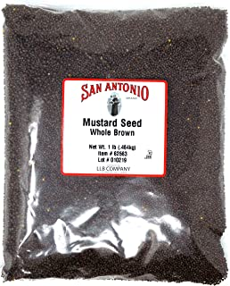 16 Ounce Premium Whole Brown Mustard Seed (1 Pound Bulk Seeds)