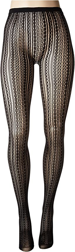 Betsey Johnson - 1-Pack Pointelle Openwork Tights