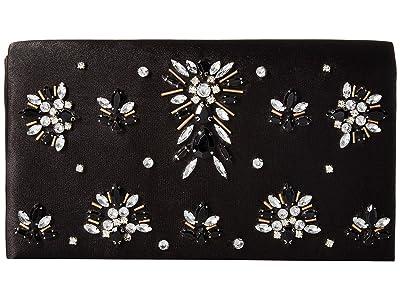 Adrianna Papell Nori (Black/Silver) Clutch Handbags