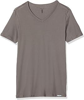 Schiesser Men's Long Life Cool Shirt 1/2 Undershirt