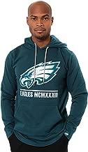Ultra Game NFL Men's Embroidered Team Logo Fleece Pullover Hoodie Sweatshirt