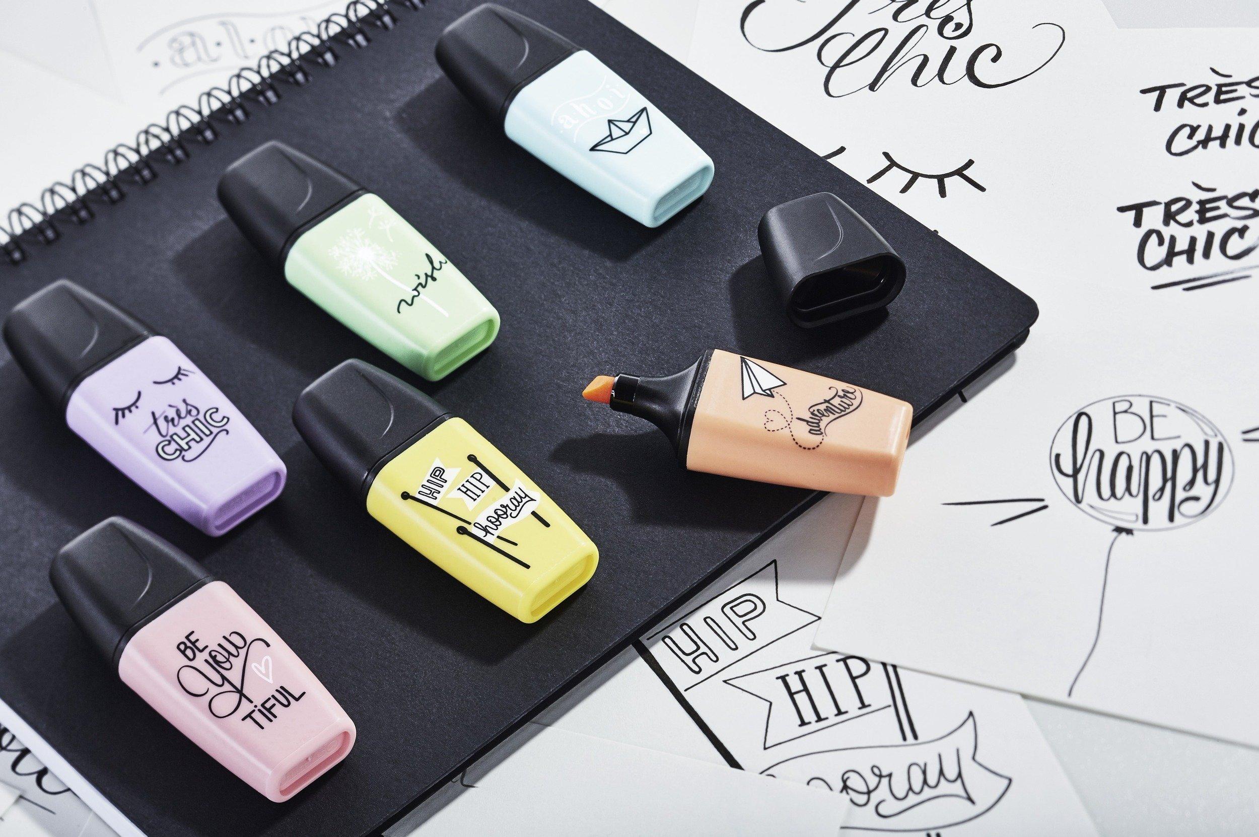 Marcador pastel STABILO BOSS mini - Edición Pastel Love - Estuche ...