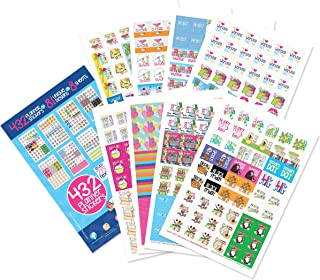 Planner Stickers Variety Set (Qty 432) Value Pack for Holidays, Birthdays, Home, Wedding,..