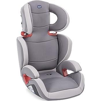Chicco Elegance Key Seggiolino Auto 15-36 kg, Gruppo 2/3 per Bambini da 3 ai 10 Anni, Reclinabile, Grigio