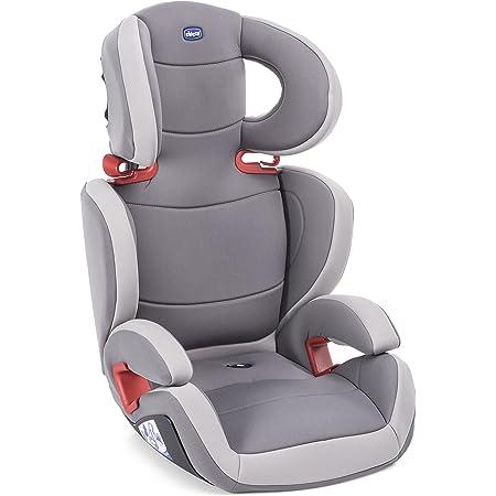Chicco Key 23 Seggiolino Auto 15-36 kg, Reclinabile, Gruppo 2/3 per Bambini da 3 a 12 Anni, Facile da Installare, Altezza e Larghezza Regolabili, Grigio