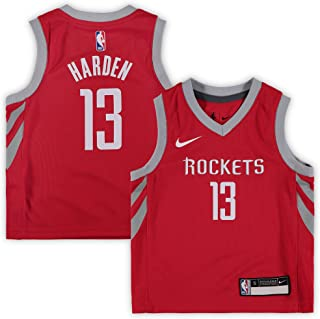 Nike James Harden Houston Rockets NBA Toddler 2-4 Red Road Icon Edition Replica Jersey