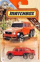 Matchbox Mercedes Benz G63 AMG 6x6 Red 79/100 MBX Off-Road 5/20