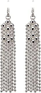 Liquid Metal by Sergio Gutierrez Earrings E31–N SG - SG pouch included. Chrome finish