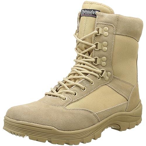 Commando Industries MCA Tactical Boots Delta Force Outdoort Stiefel Einsatzstiefel Schwarz oder Beige Gr. 38 47