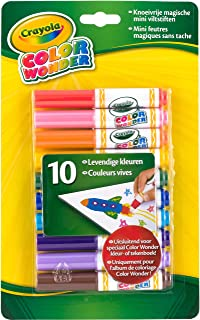 Best Crayola Color Wonder Markers, Mess Free Coloring, 10 Count, Gift for Kids, Age 3, 4, 5, 6 Review