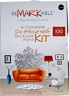 ReMARKable Whiteboard Paint 100 Square Foot Kit (Clear)