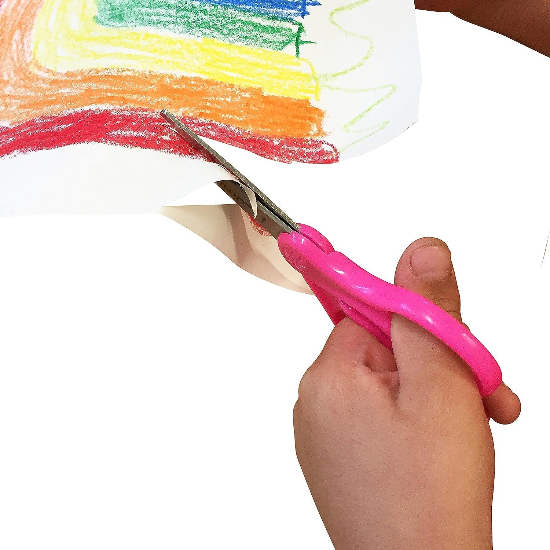 Blunt Tip 15968 Neon Blue Westcott Classic Kids Scissors 5-Inch