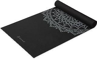 Gaiam Yoga Mat - Premium 5mm Print Thick Non Slip...