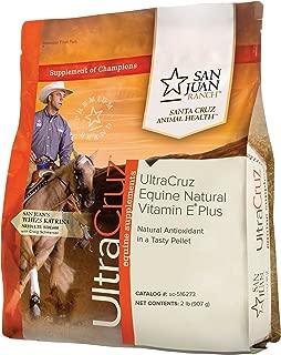 UltraCruz Equine Natural Vitamin E Plus Supplement for Horses, 2 lb, Pellet (13 Day Supply)