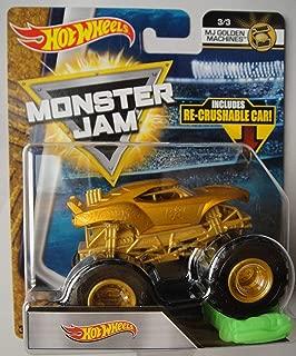 Monster JAM 1:64 Scale Golden Machines, HOT Wheels Treasure Hunt