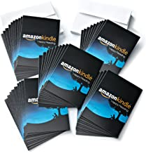 Amazon.com $5 Gift Cards, Pack of 50 with Greeting Cards (Amazon Kindle Design)