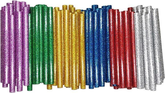 15 opinioni per DDSTG 120 Pezzi Bastoncini di Colla a Caldo 7x100mm Popolare Colore Glitterato