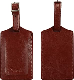 leather luggage tags bulk