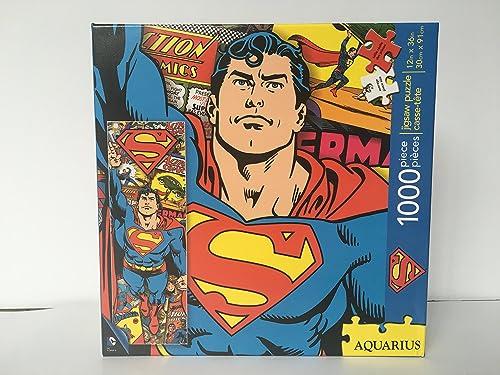 Superhomme 1000 Piece Jigsaw Puzzle by Aquarius