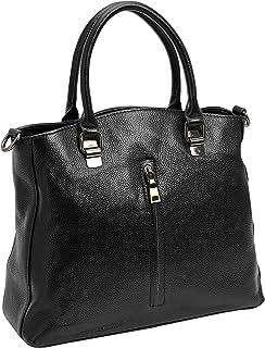 Heshe Leather Handbags for Women and Ladies Purses Hobo Tote Top-handle Bag Satchel Cross-body Bags
