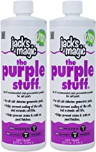 Jack`s Magic The Purple Stuff Pool Stain and Scale Preventer - 2 x 1 Quarts