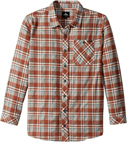 Rip Curl Kids - Mundo Long Sleeve Flannel Shirt (Big Kids)