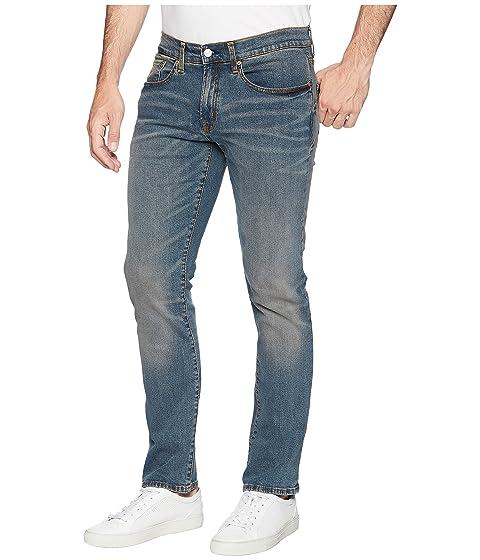 Jeans Blue ASSN POLO in Straight Slim U Stretch S Denim w60qECP