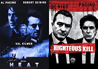 Two Of The Best To Do It! Bobby & Al Back Together At Last: Heat & Righteous Kill 2 DVD Bundle
