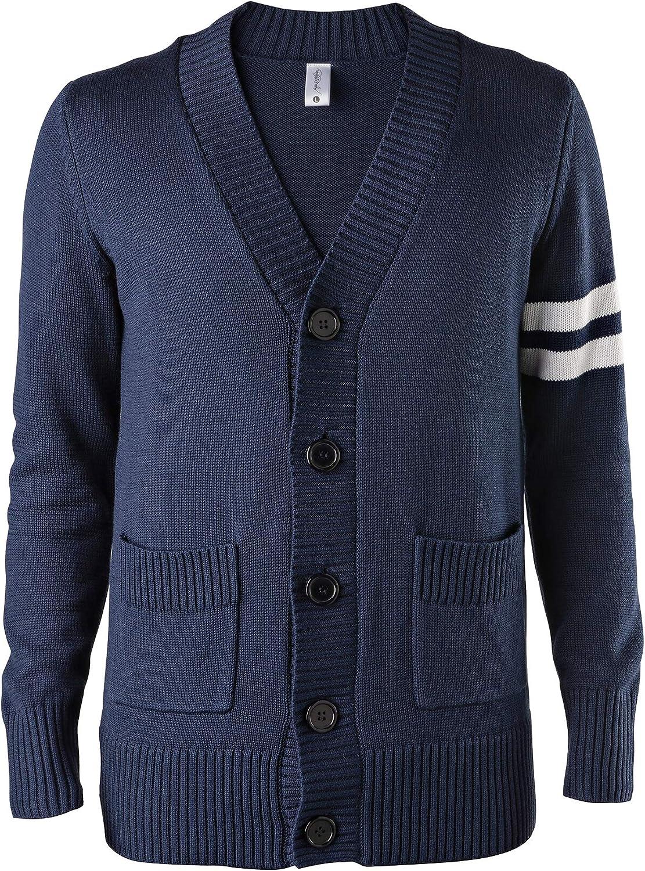 Hip Hop Max 77% Max 42% OFF OFF 50's Shop - Sweater 1950s Mens Letterman Cardigan