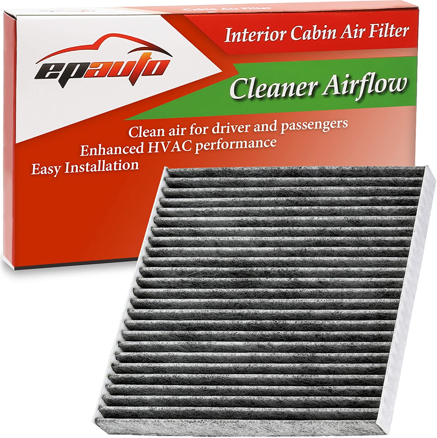 Amazon Com Epauto Cp671 Cf11671 Replacement For Mazda Cx 7 Ram 1500 2500 3500 4500 5500 Cabin Air Filter Includes Activated Carbon Automotive