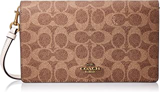 Coach Crossbody for Women- Monogram/Tan