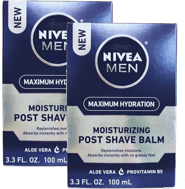 Nivea For Men Post Shave Balm 5 ☆ very popular - 3.3 oz Max 40% OFF pk 2