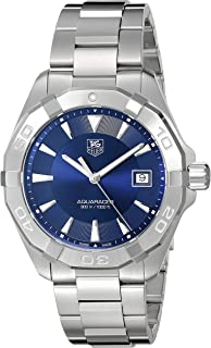 Men's Swiss Quartz Stainless Steel Casual Watch, Color:Silver-Toned (Model: WAY1112.BA0928)