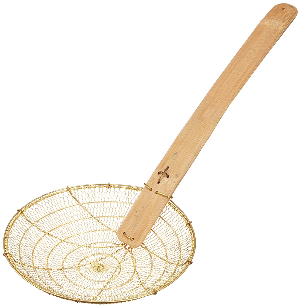 にやにやボード旋回山下工芸(Yamasita craft) HG 真鍮油こしそば揚 23cm 9インチ 120041012