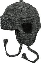 Muk Luks Men's Trapper Hat- Grey Fairley
