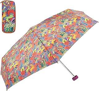 comprar comparacion Catalina Estrada for EZPELETA Paraguas Plegable antiviento de Mujer, tamaño Mini y Apertura Manual. Incluye Estuche rígido...