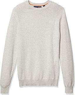 Superdry Men's Orange Label Cotton Crew Sweater