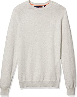 Men's Orange Label Cotton Crew Sweater